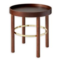Adesso Montgomery End Table in Walnut