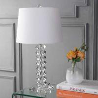 "JONATHAN Y Julia 25.5"" Crystal Table Lamp"