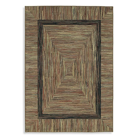 Shaw Timber Creek by Phillip Crowe Barnwood 3-Foot 10-Inch x 5-Foot 6-Inch Rug