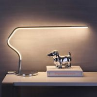 "JONATHAN Y Julian 15"" LED Integrated Task Lamp in Chrome"