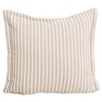 Bengal Stripe European Pillow Sham in Dune