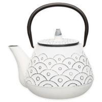 BergHOFF® Studio 1 qt. Cast Iron Teapot in White
