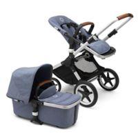 Bugaboo Fox Complete Stroller in Blue Mélange