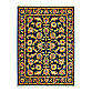 Shaw Jack Nicklaus Collection Emeralda 5-Foot 5-Inch x 8-Foot Rug in Black