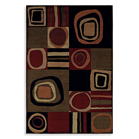 Shaw Accents Collection Galaxy Multicolor 5-Foot 3-Inch x 7-Foot 10-Inch Rug in Multicolor