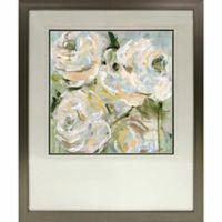 White Roses Framed Wall Art