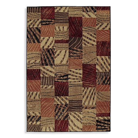 Shaw Accents Collection Lima 1-Foot 11-Inch x 7-Foot 6-Inch Runner in Tan