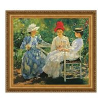 Three Sisters June Sunlight Study 17.25-Inch x 16.25-Inch Framed Canvas Replica Wall Art