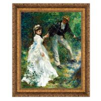 """La Promenade"" 13.5-Inch x 16.5-Inch Framed Canvas Replica Wall Art"