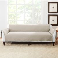 Sure Fit® Microtouch Reversible Sofa Protector in Sand