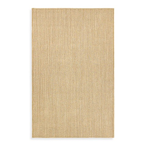 Shaw Natural Expressions Collection Rattan White Sands 5-Foot x 8-Foot Rug In Beige