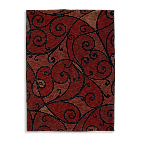 Shaw Modernworks Collection Spellbound 5-Foot 5-Inch x 7-Foot 9-Inch Rug