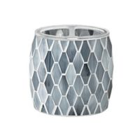 JLA Bath Mosaic Toothbrush Holder in Grey