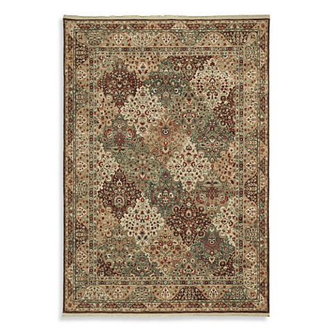 Shaw Renaissance Collection Venice Dark Brown 3-Foot 6-Inch x 5-Foot 3-Inch Rug