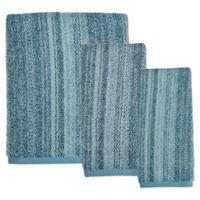 Saturday Knight Woodland Walk Bath Towel in Blue