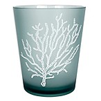 Saturday Knight Coral Reef Plastic Wastebasket in Aqua