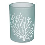 Saturday Knight Coral Reef Glass Tumbler in Blue
