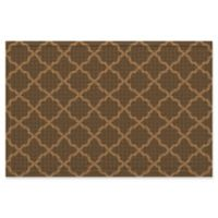 Weather Guard™ Onyx Expressions 24-Inch x 36-Inch Door Mat in Brown