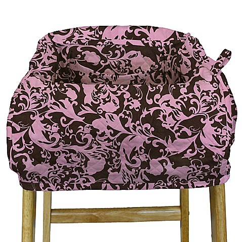 The peanut shell high chair and shopping cart cover for Canopy couture