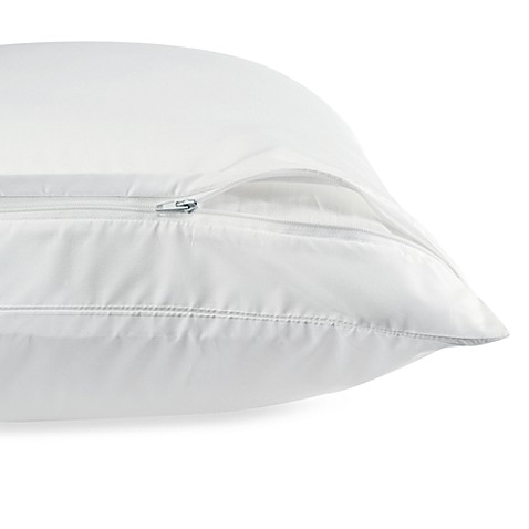 claritinr anti allergy pillow protector bed bath beyond With allergy free pillows bed bath and beyond