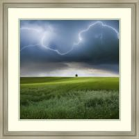 Amanti Art Someplace In Summer 26-Inch Square Framed Wall Art