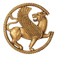 design TOSCANO® Persian Griffin Wall Sculpture in Gold