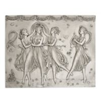 design TOSCANO® Three Graces Dancing Wall Sculpture in Off White