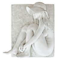 design TOSCANO® Beth by the Beach Wall Sculpture in Antique Stone