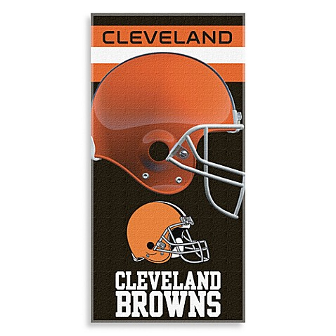 NFL Cleveland Browns Shadow Beach Towel