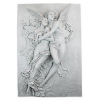 design TOSCANO® Cupid & Psyche Wall Frieze in Antique Stone