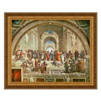 design TOSCANO® 33-Inch x 40-Inch The School of Athens Canvas Replica Painting