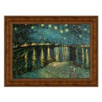 design TOSCANO® 20-Inch x 21-Inch La Nuit Etoilee Canvas Replica Painting