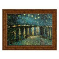 design TOSCANO® 23-Inch x 28-Inch La Nuit Etoilee Canvas Replica Painting