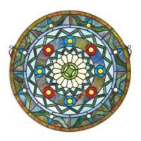 design TOSCANO® Kaleidoscope Stained Glass Window