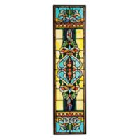 design TOSCANO® Blackstone Hall Stained Glass Window