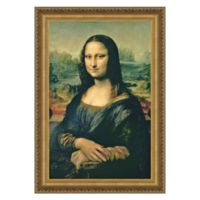 design TOSCANO® 41-Inch x 30-Inch Mona Lisa Canvas Stained Replica Painting