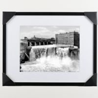 Historic Pictoric Genesee Falls 22-Inch x 28-Inch Wall Art