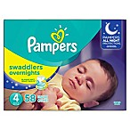 Pampers® Swaddlers 62-Count Size 4 Overnights Disposable Diapers