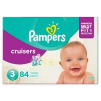 Pampers® Cruisers™ 84-Count Size 3 Super Pack Plus Disposable Diapers