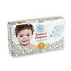Honest 44-Pack Size 1 Diapers in Panda Pattern