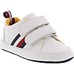 Tommy Hilfiger® Size 9-12M Henry Shoe in White