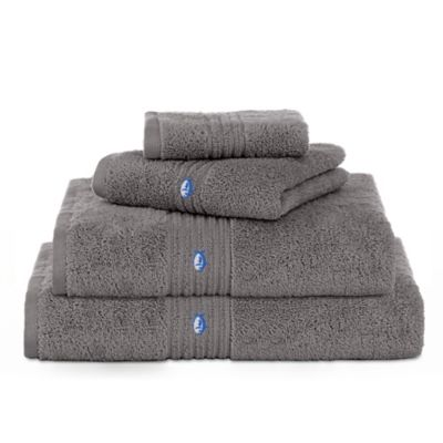 Southern Tide Performance 5.0 Bath Towel In Nautical Grey