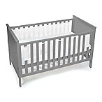 BreathableBaby® Classic Solid End Breathable® Mesh Crib Liner in White