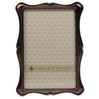 Lawrence Frames 4-Inch x 6-Inch Romance OIl Rubbed Bronze Picture Frame