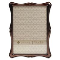 Lawrence Frames 5-Inch x 7-Inch Romance OIl Rubbed Bronze Picture Frame