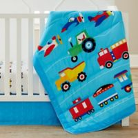 Olive Kids Trains, Planes, Trucks 3-Piece Crib Bedding Set