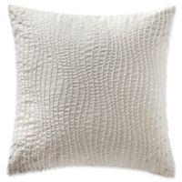 Highline Bedding Co. Jacqueline Beaded Square Throw Pillow in Desert Rose