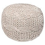 Coastal Pouf Ottoman in Natural