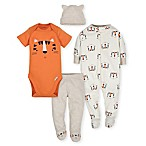 Gerber® Size 0-3M 4-Piece Tiger Take Me Home Set