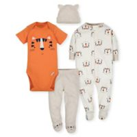 Gerber® Newborn 4-Piece Tiger Take Me Home Set